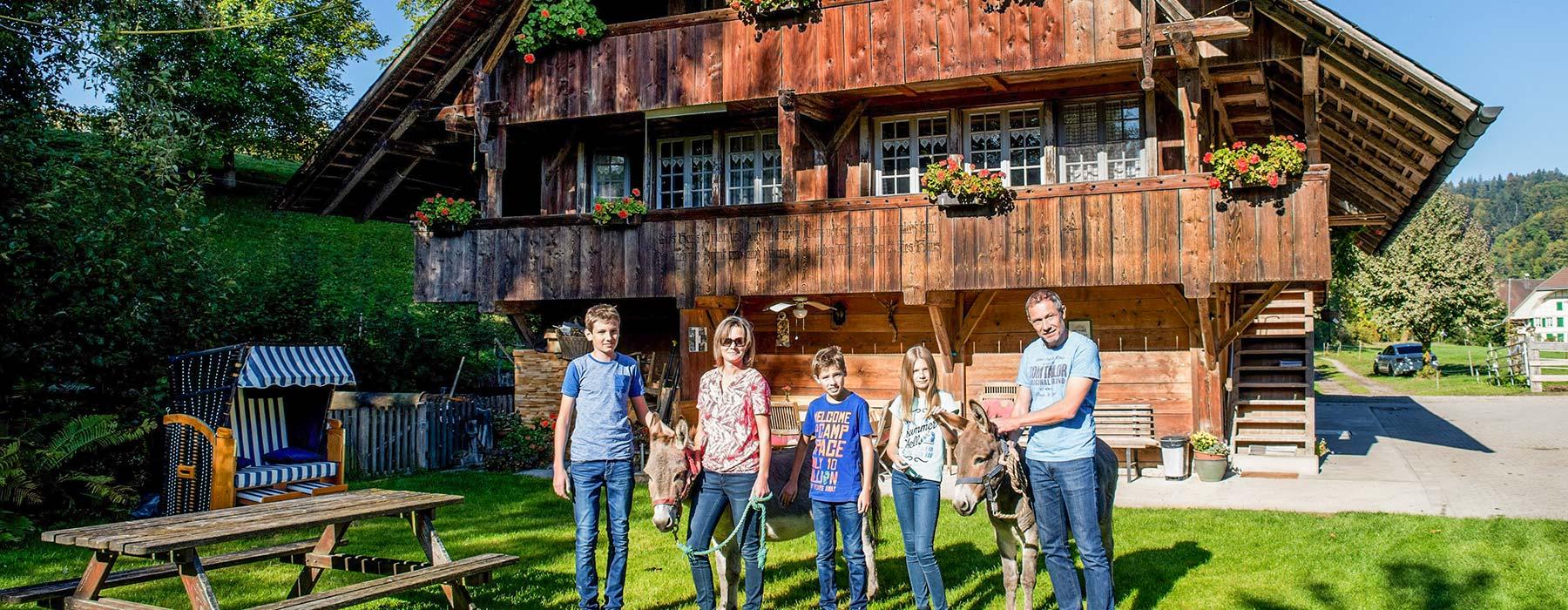 Bauernhof Bleiche Rohrbach